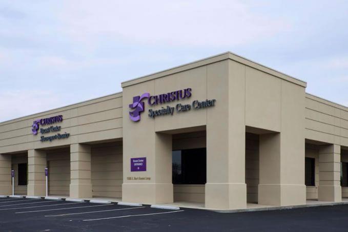 Christus Specialty Care Center Hand Construction