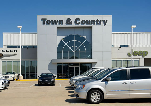 Hebert's Town & Country Chrysler, Jeep | Hand Construction